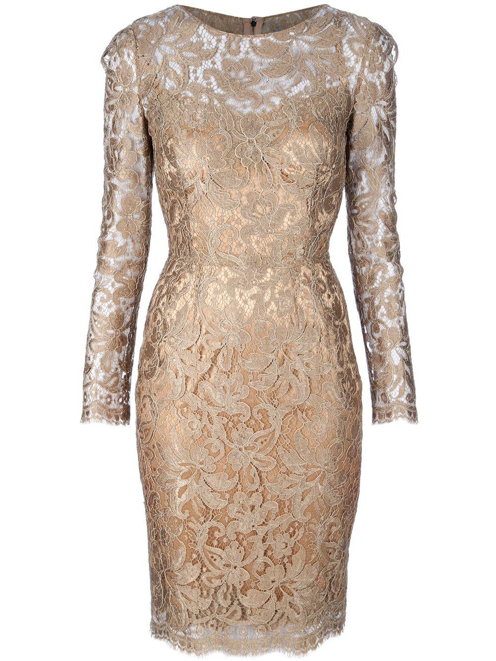 1a0e8c2ac05 DOLCE   GABBANA - Lace Dress