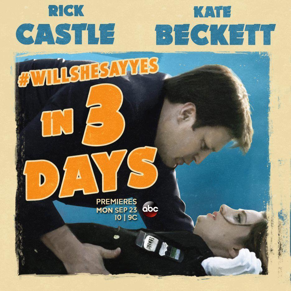 Tudo Sobre A Sexta Tempora Da De Castle Www Popseries Com Br Willshesayyes Castle Tv Shows Castle Beckett Great Love Stories