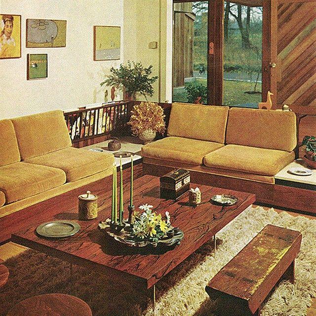 60s Living Room 60s 1960s Sixties 60sroom 60slivingroom Oldroom Classic Vintage Retro Cool Vintage Interior Design 60s Interior Design 60s Interior
