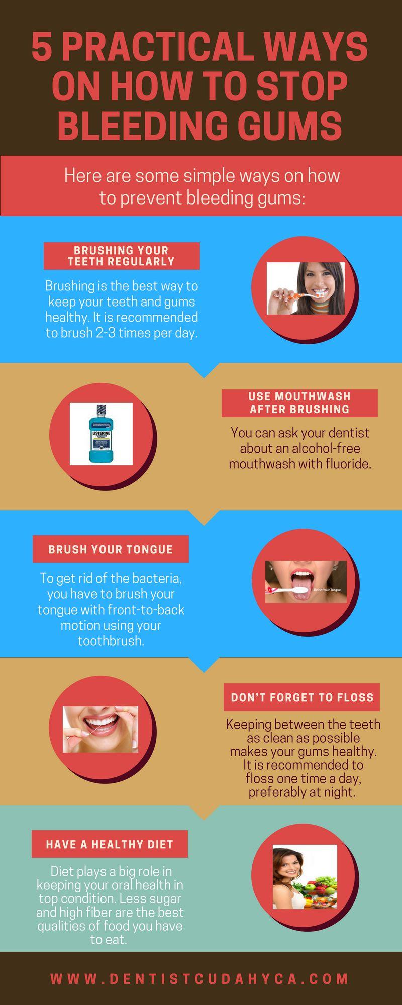 5 Practical Ways On How To Stop Bleeding Gums Bleeding