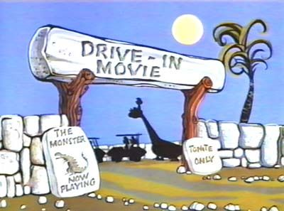 Flintstones Drive In Movie Drive In Movie Aus Vor Abspann 25 Kb Flintstones Good Cartoons Classic Cartoons