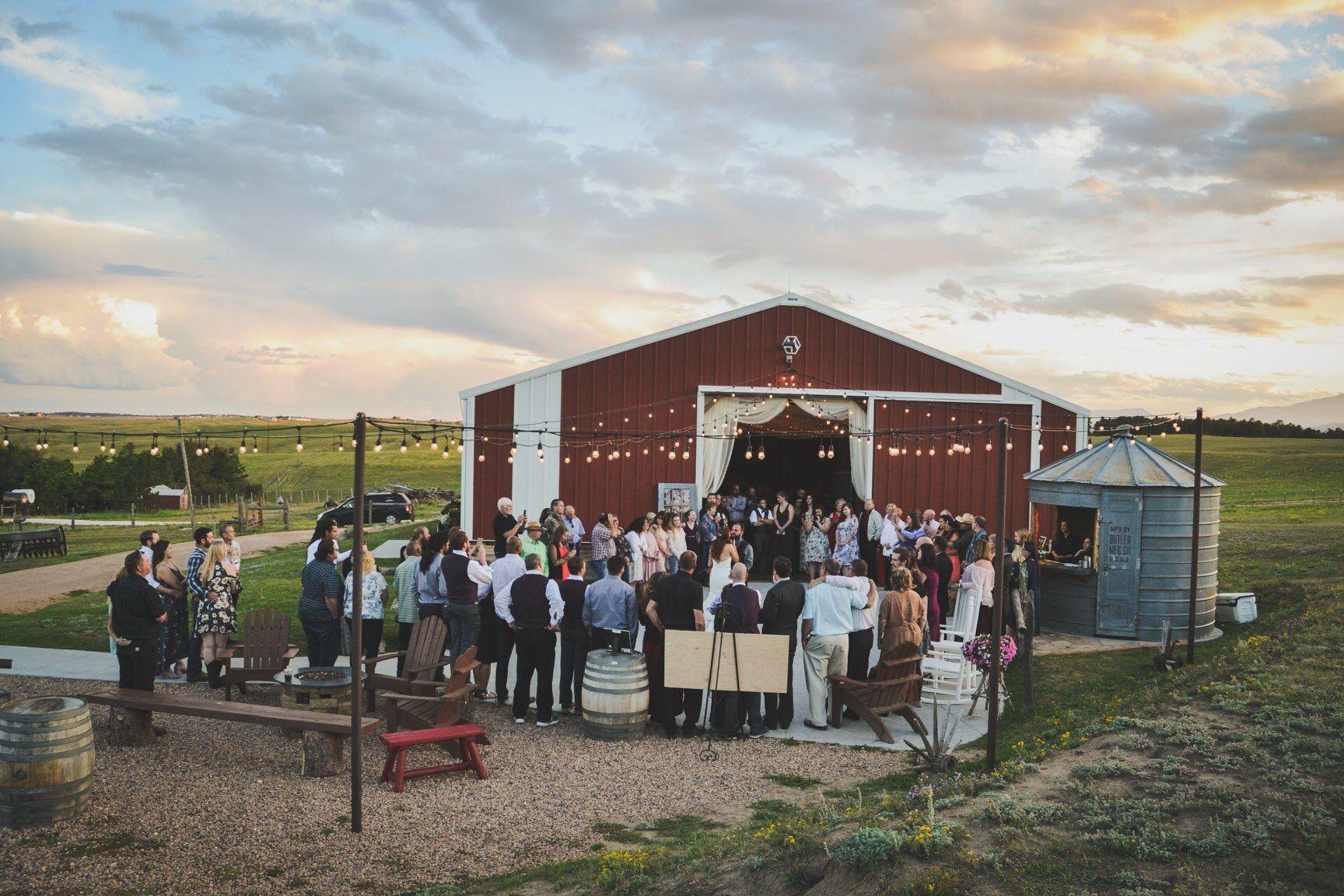 Wedding venue in Colorado Springs. Rustic wedding ...