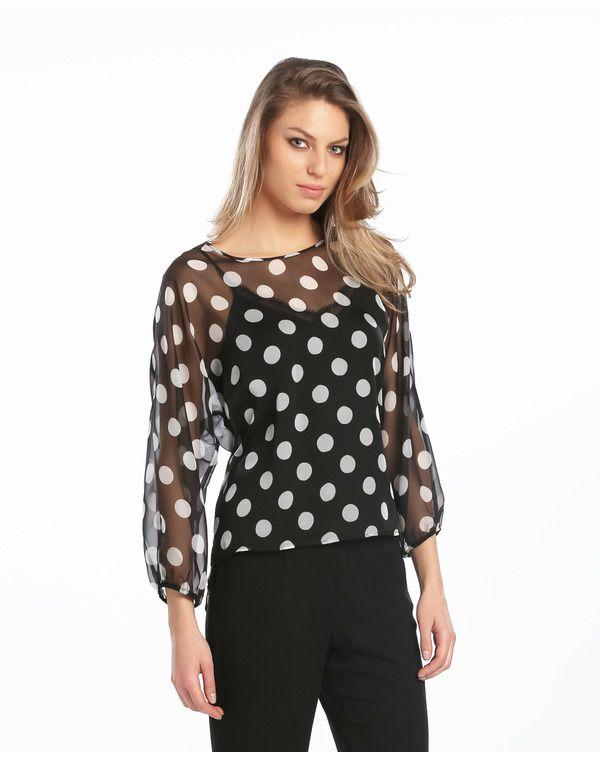 Blusa de mujer Fiesta El Corte Inglés - Mujer - Blusas y Tops - El Corte  Inglés - Moda 97a41828a98