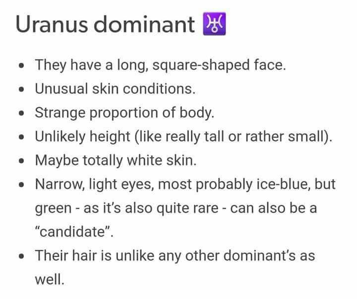 Uranus dominant ♅ | ☆Astrology/Zodiac☆ | Zodiac signs astrology