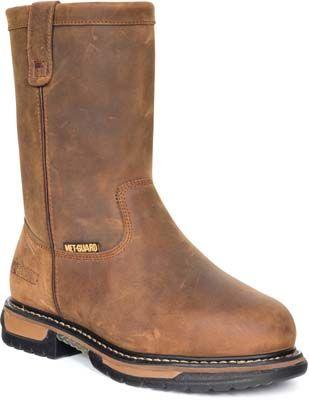 c2ea01e9986 Rocky Boots FQ0006468 - Rocky Boot Men's 10 Inch Pull On Tan Iron ...