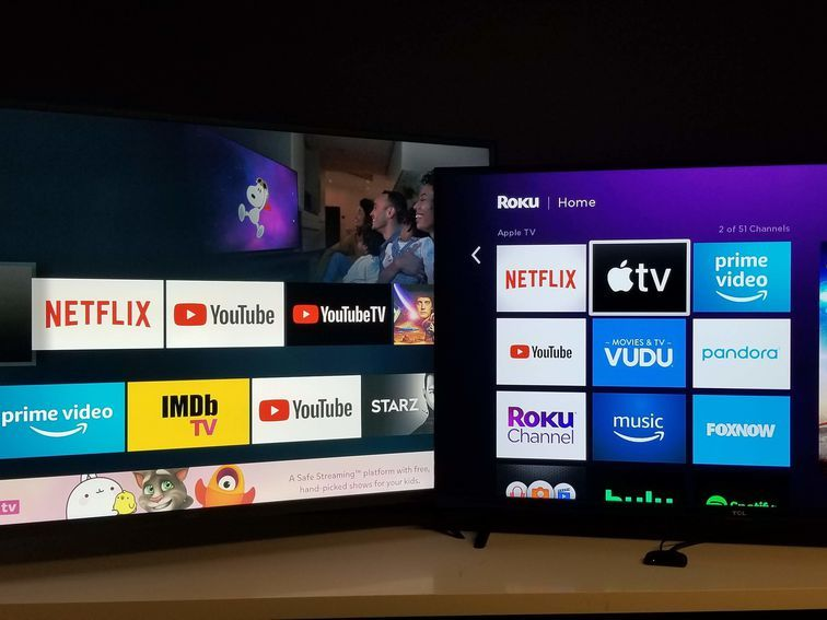Apple Tv App Do Roku And Fire Tv S Features Match Apple Tv 4k In 2020 Apple Tv Tv App Disney Plus