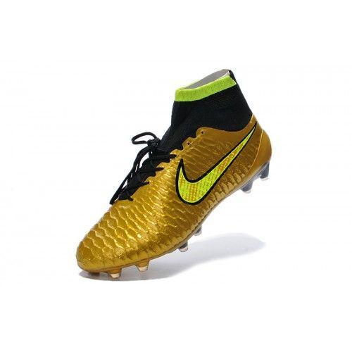 nike magista fotbollsskor billig nike magista obra fg guld gron fotbollsskor