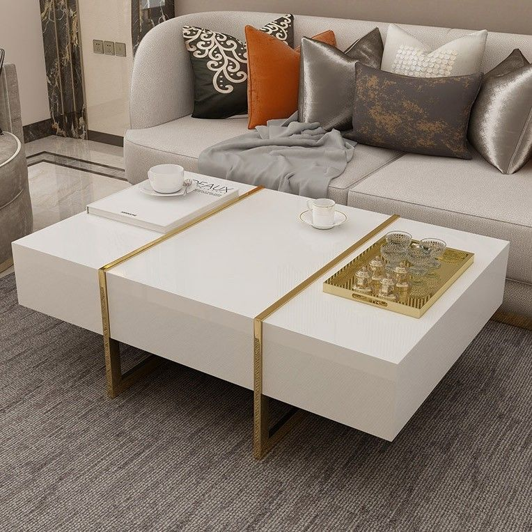 21+ White coffee table with drawers trends