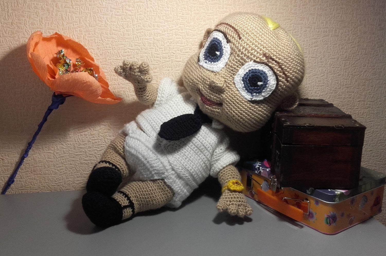 Crochet Amigurumi For Baby : Crochet baby doll baby boss sweet baby present sweet dollie funny