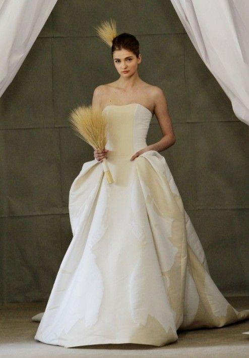 Ilona by Carolina Herrera, Spring 2013 Bridal Collection