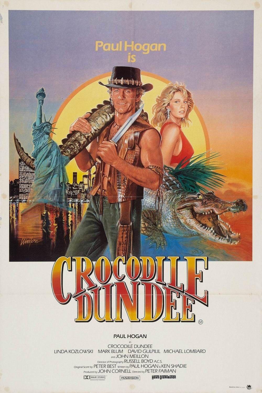 Crocodile Dundee - a movie hat made Paul Hogan a famous star ...