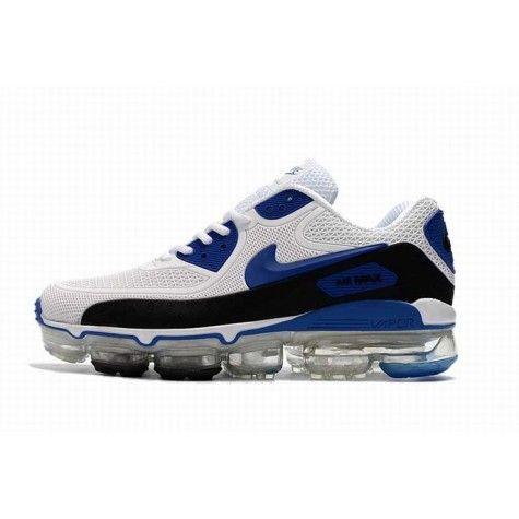 prix le plus bas 0d5e6 53be9 Supérieur Homme Neuf Nike Air Max 90 Fonction Blanc Bleu ...