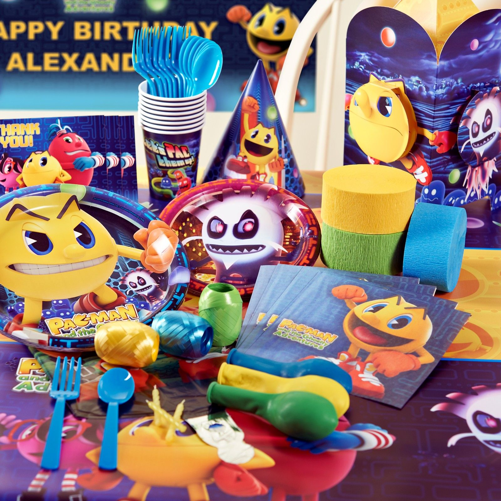 Deluxe Pac Man Party Pack Birthdayexpress