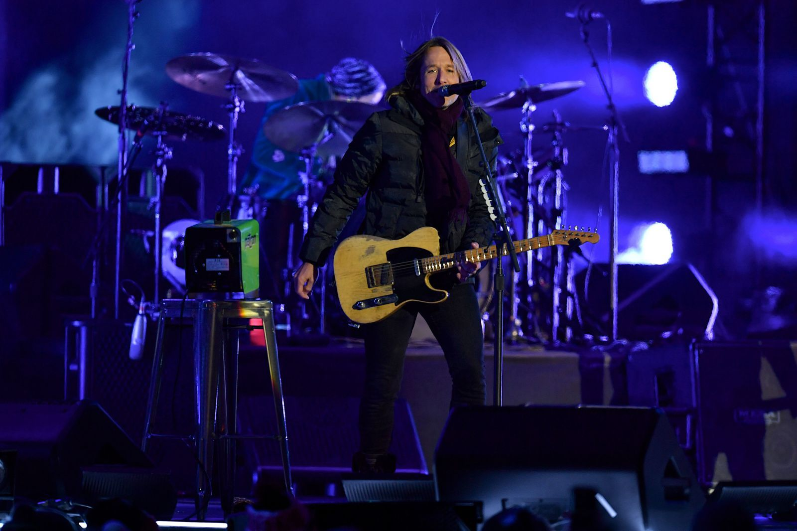 Keith Urban Brought His Daughters Out on Stage for a Rare