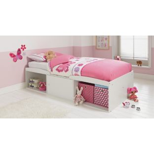 Leo Single Cabin Bed Frame - White at Argos.co.uk   Cabin ...