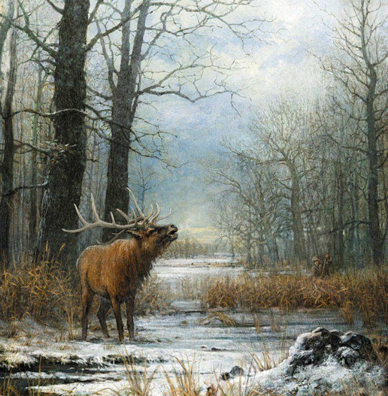 russian Art work image | Охота на Руси. Обсуждение на LiveInternet ...
