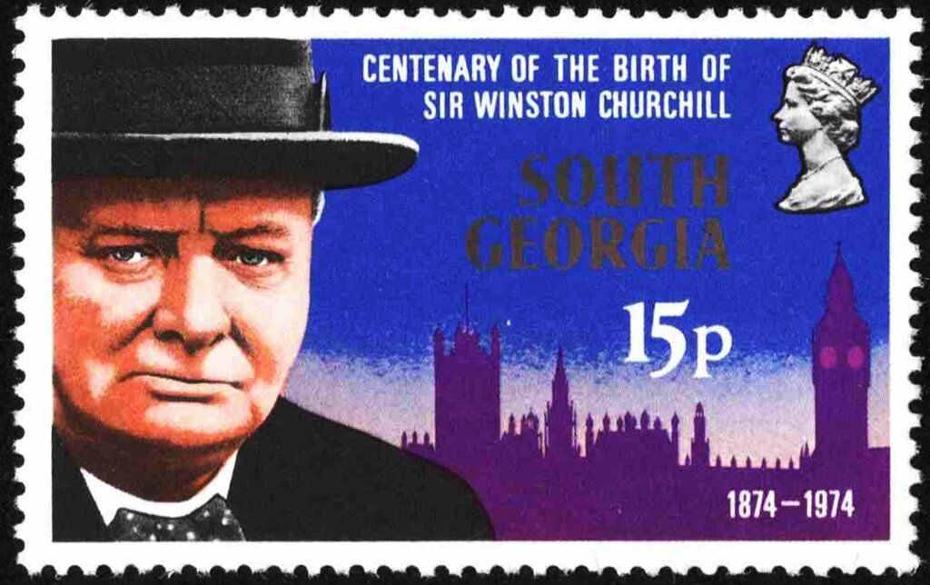 South 1974 Centenary of the Birth of Sir Winston
