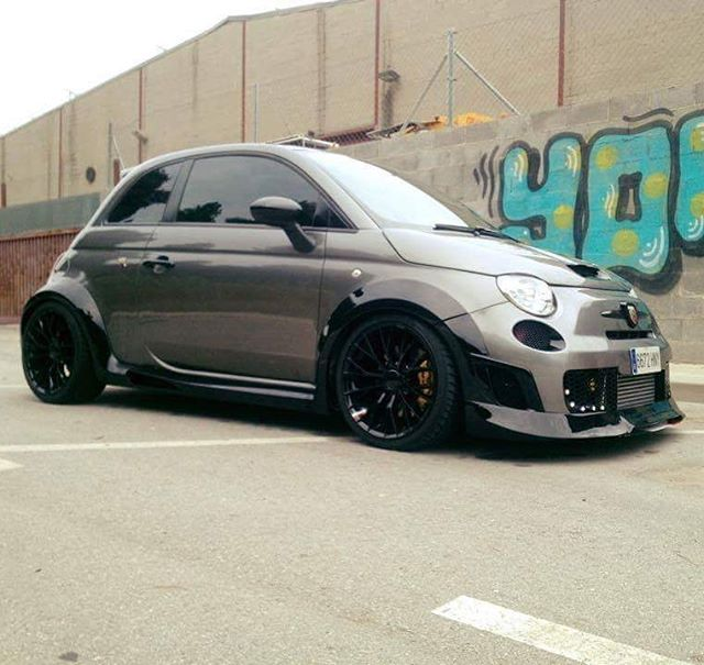 Tito S Awesome Fiat Abarth 1 6 Custom Tuned 585 For Sale With