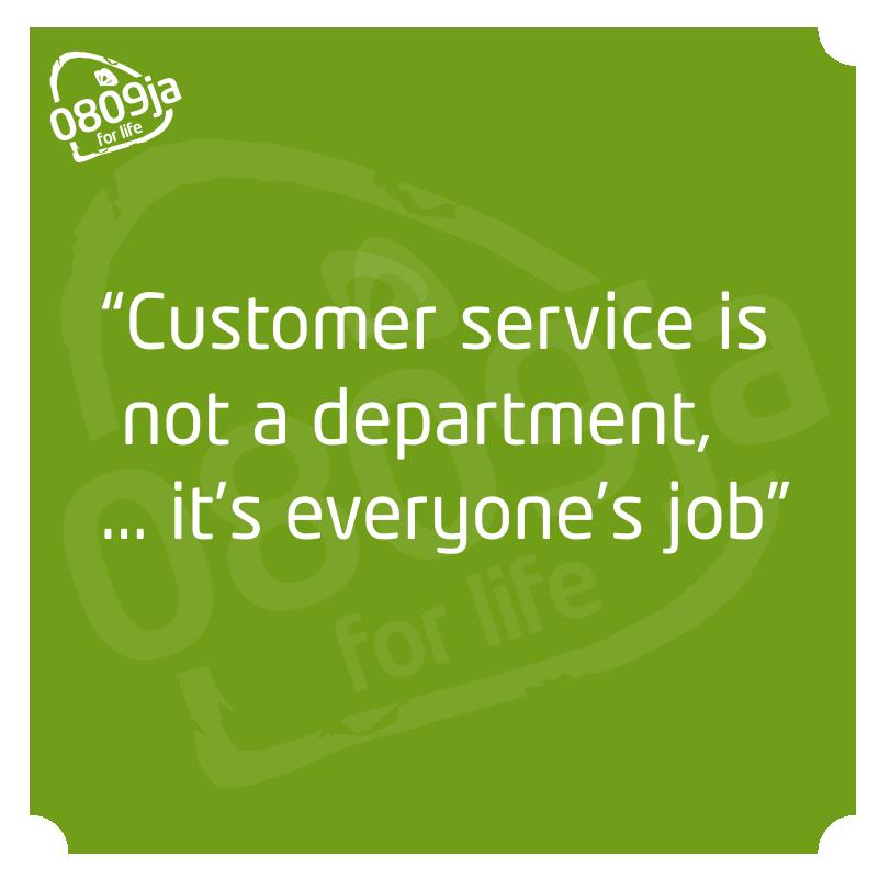 Inspirational Quotes On Customer Satisfaction: El Servicio Al Cliente No Es Un Departamento, Es Tarea De