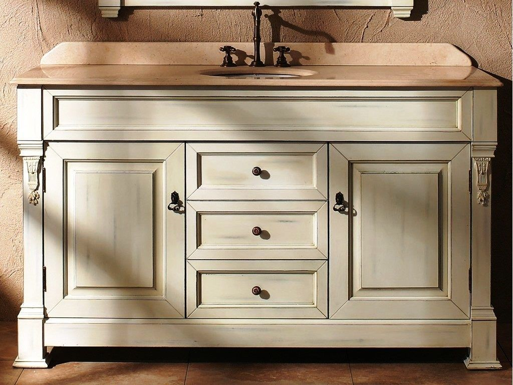 60 Inch Bathroom Vanity With Single Sink Bathroomvanitytops