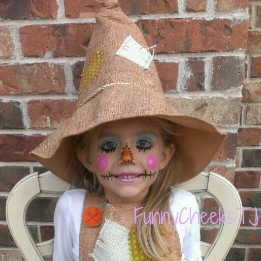 Scarecrow costume for little girls halloween Pinterest - scarecrow halloween costume ideas