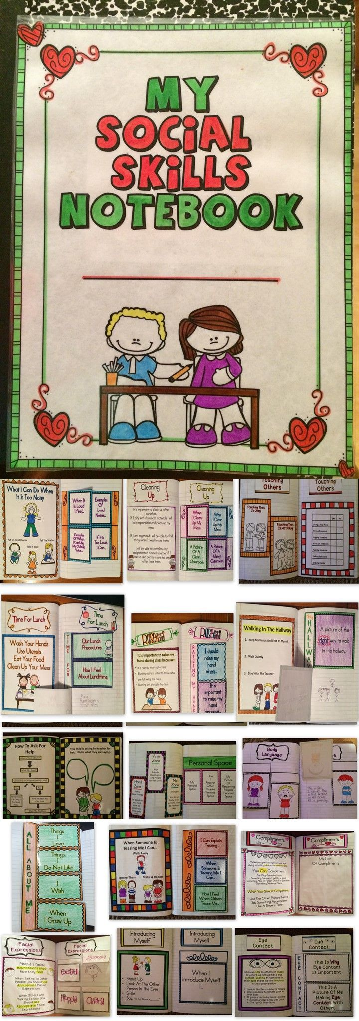 social skills interactive student notebook notebooks will have social skills interactive notebook this interactive notebook is a great tool to help children learn positive behaviors children will learn about positive