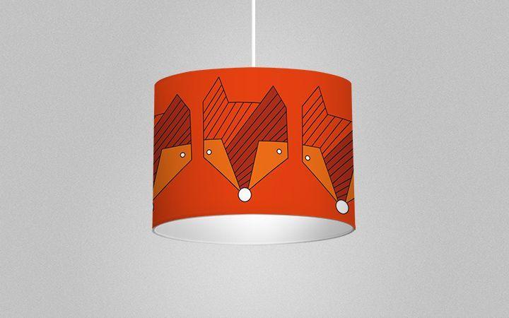 Leuchte Foxes, for him Größe: Durchmesser 30 cm x Höhe 22 cm Farbtöne: orange Material: Vlies http://www.decorplay.at/product/173-leuchte-foxes-for-him