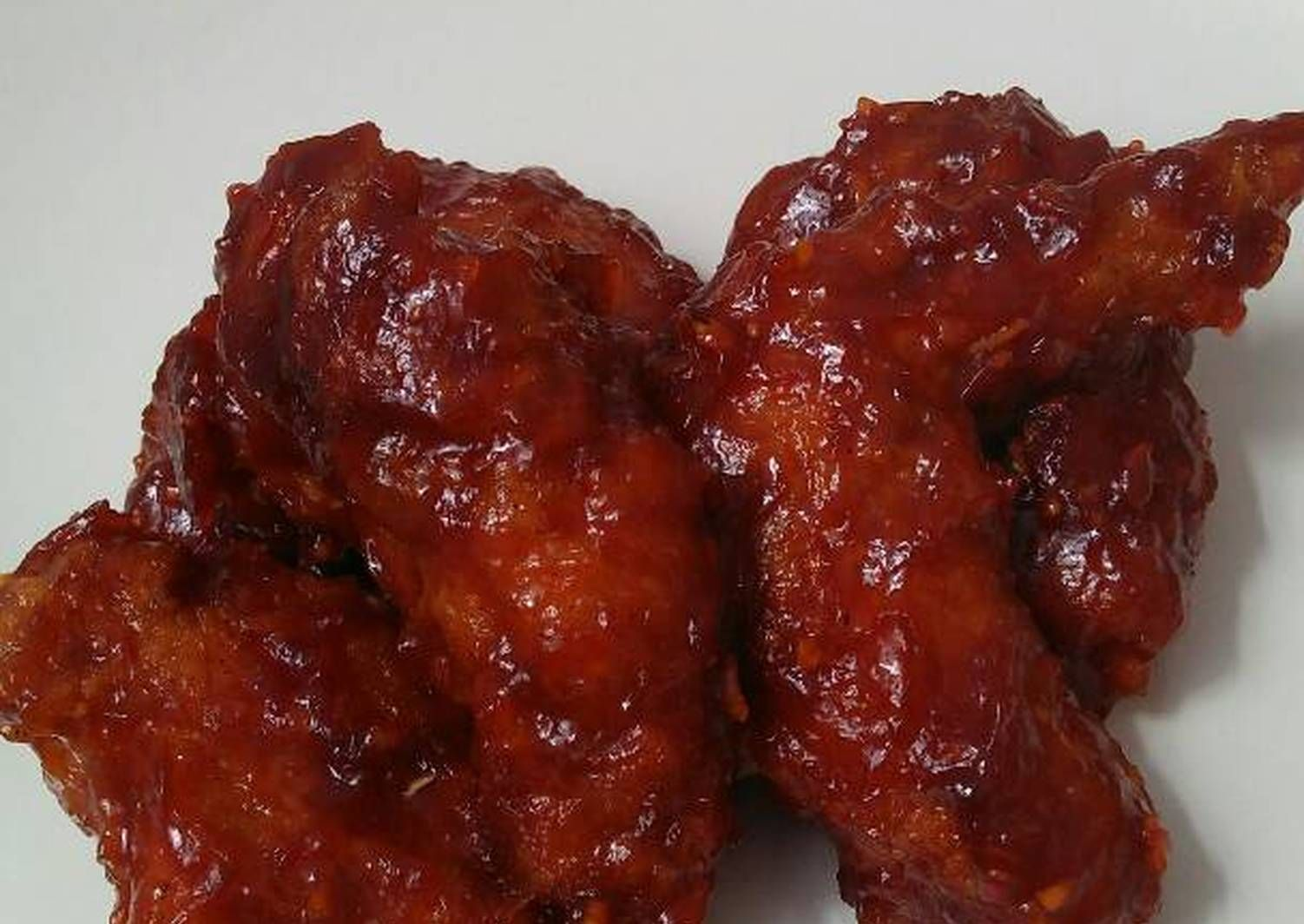 Resep Ayam Pedas Fire Wings Ala Richeese Oleh Ridha Firmansyah Resep Di 2020 Resep Ayam Sayap Ayam Resep