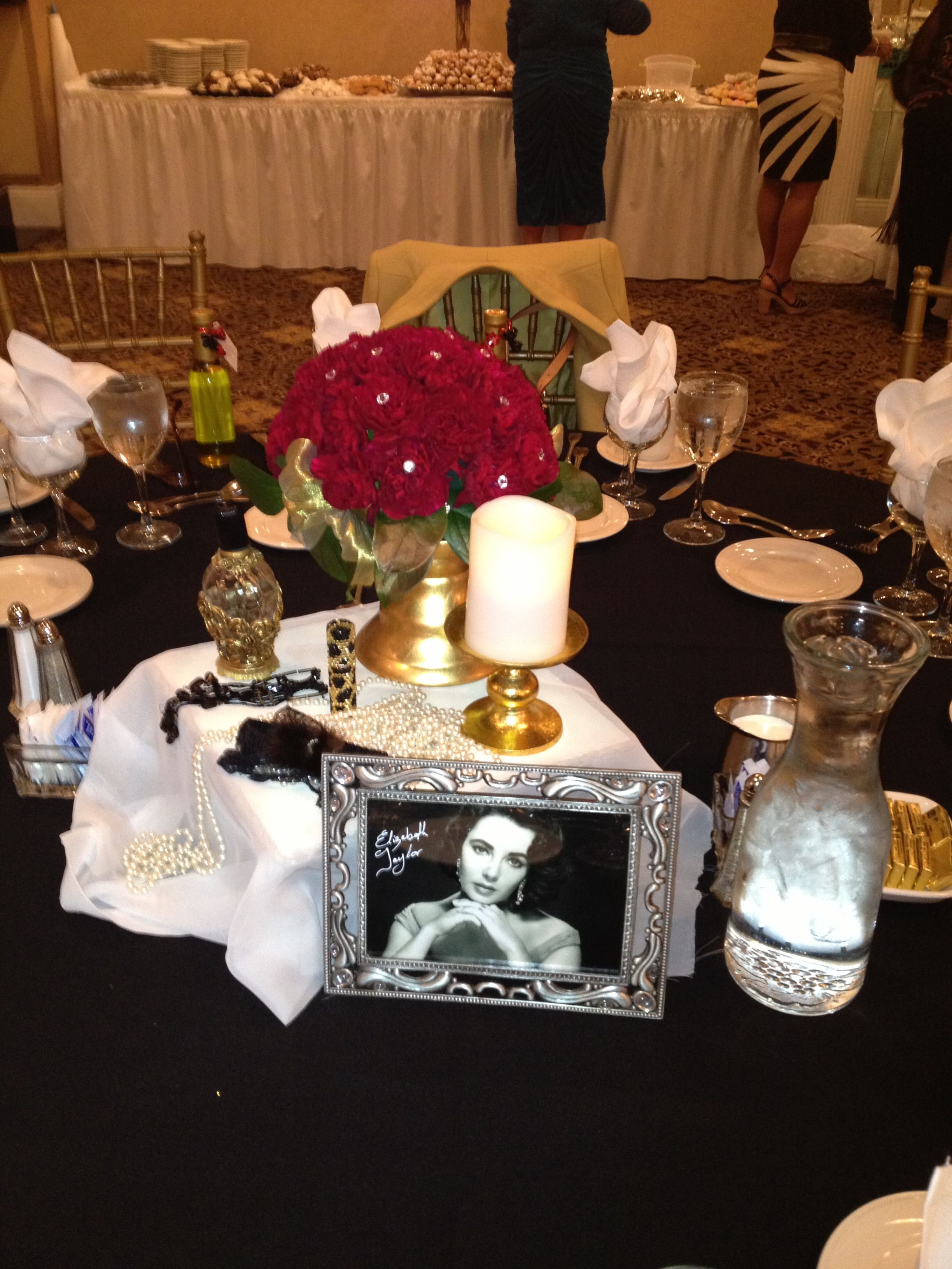 Old Hollywood Theme March 2013 Natalie And Sal S Bridal Shower
