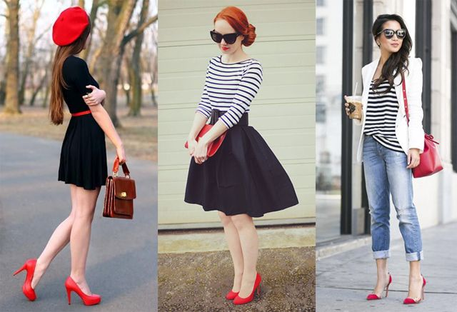 9938918d3a7 What to wear with red heels? 10 outfit ideas | Fashion Rules ...