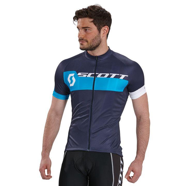 SCOTT Kurzarmtrikot Endurance Plus blau