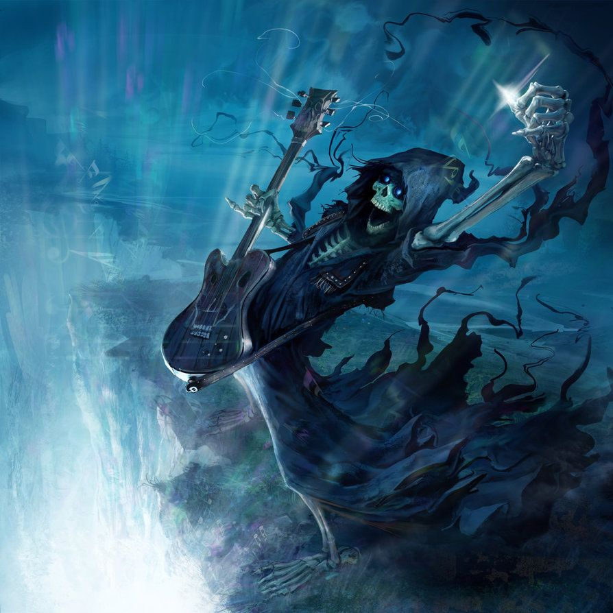 Discworld- Soul Music Susan by Bilious | Soul music, Nose art, Terry  pratchett discworld