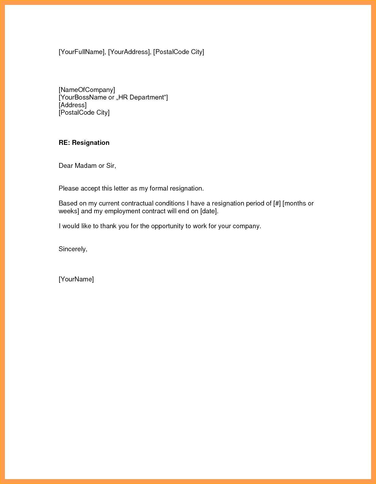 New Simple Resignation Letter Sample Download Http Letterbuis Com New Simple Resignation Letter Samp Resignation Letter Sample Resignation Letter Resignation