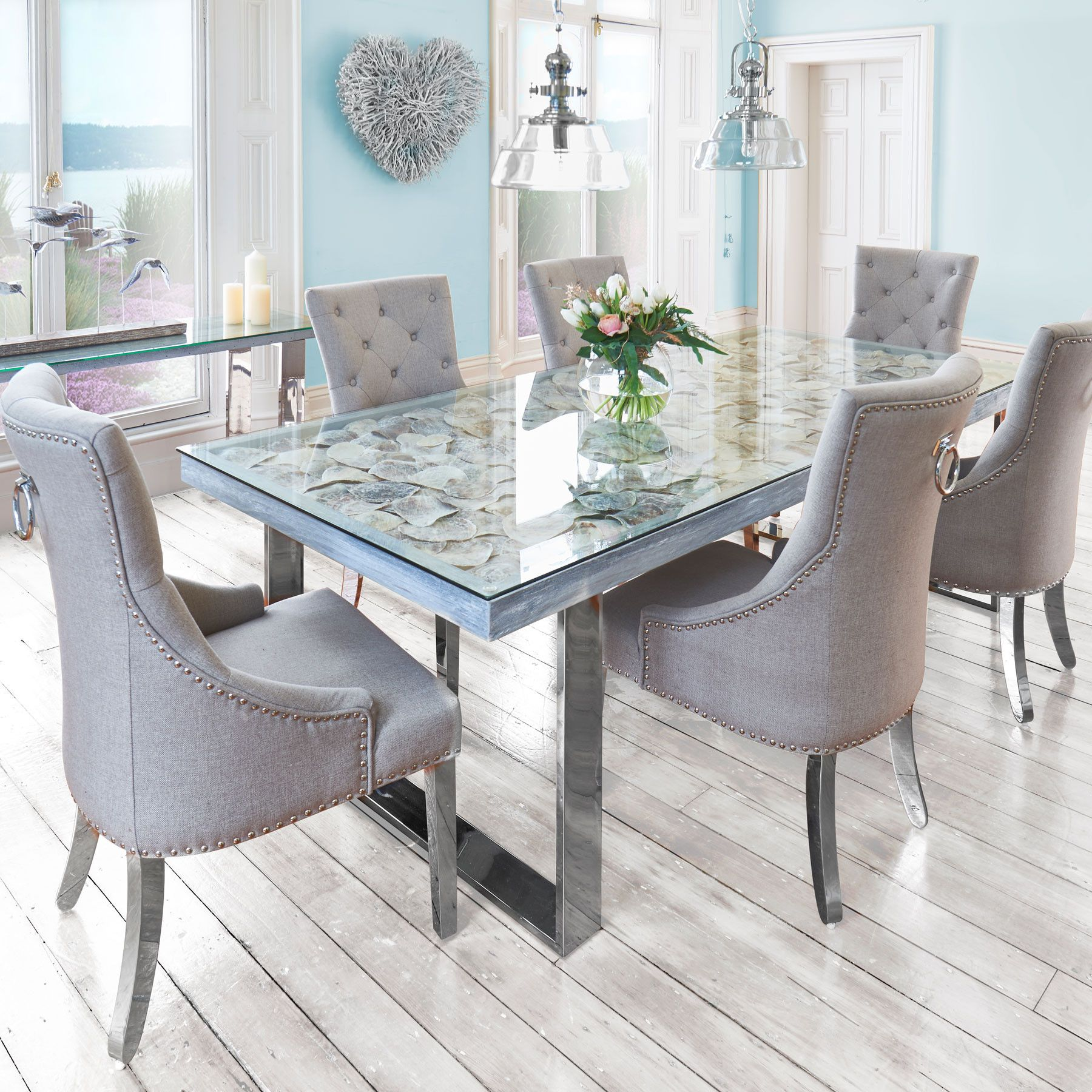 Image Result For Seashell Dining Table Elegant Dining Room