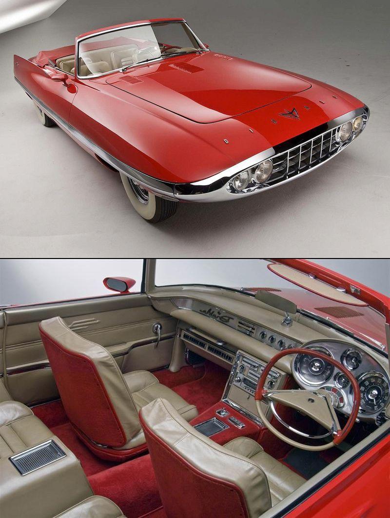 1957 Chrysler Diablo Concept, Design & Prototype Show Car by J. Samsen #conceptcars