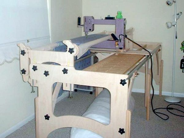 Fun Quilter By Nolting Manufacturing The Compact Longarm For Tabletop Quilting Frames