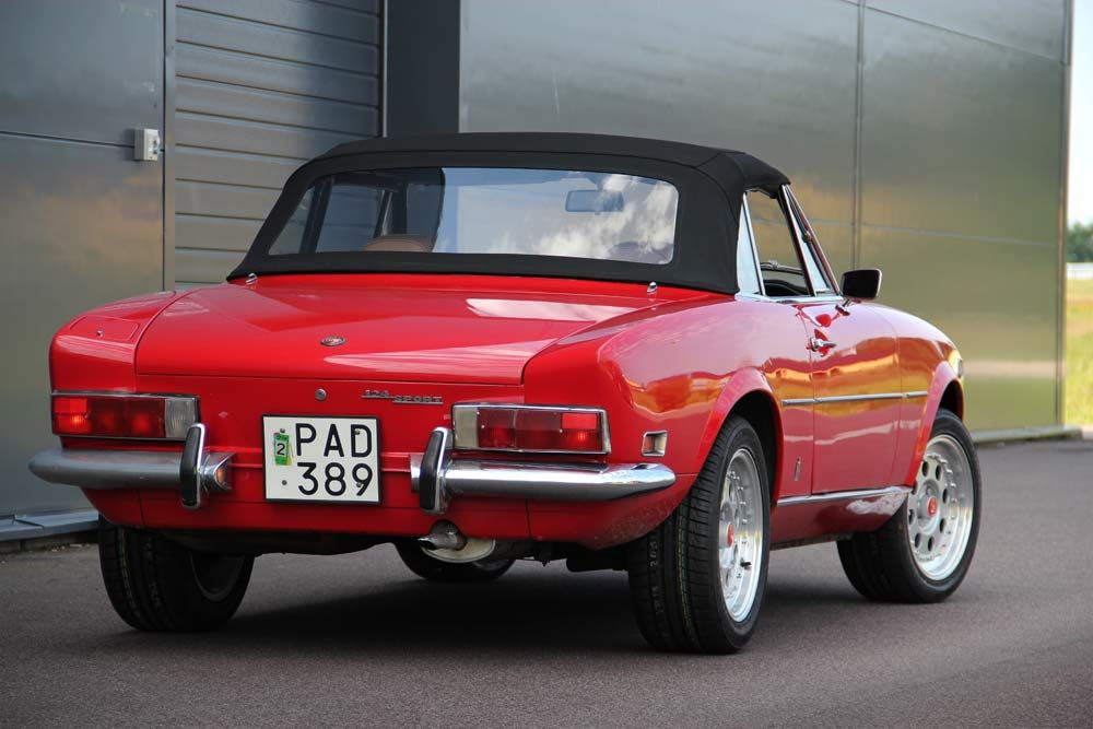 Pin On Fiat Classic Sports Cars