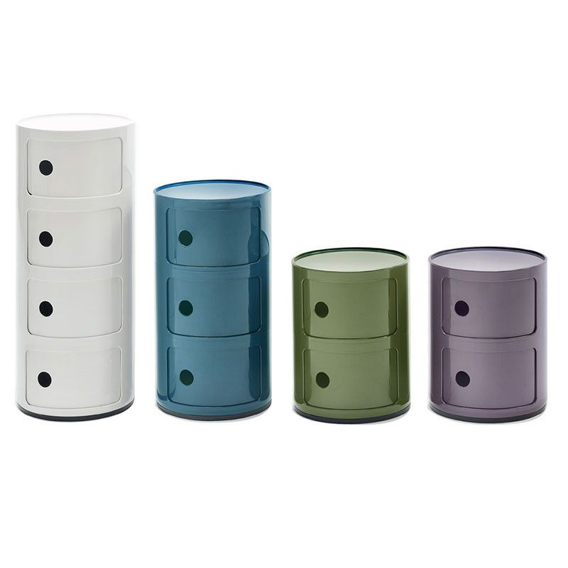 Iconic Kartell Componibili Storage Units Reproductions Make It More Affordable Mobili Componibili Mobiletto Mobili