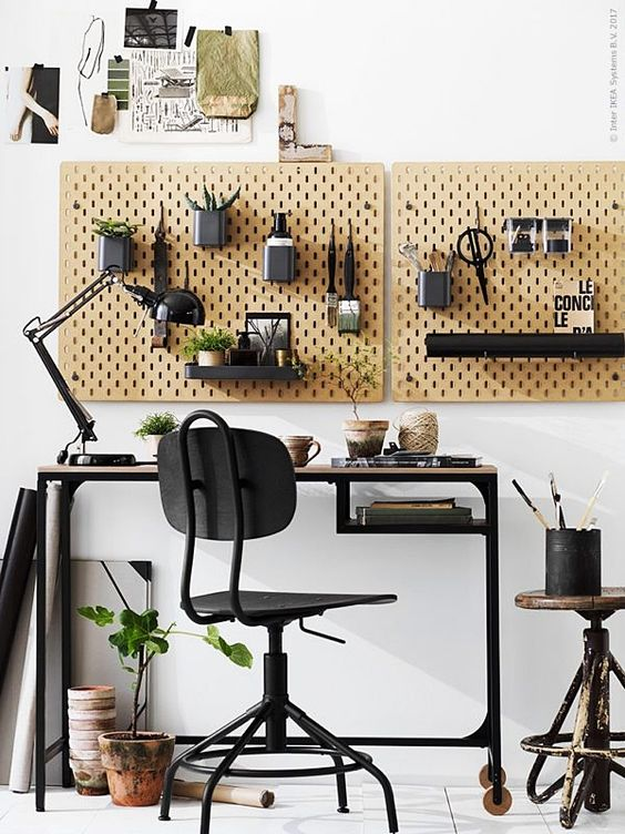 pin by zhang shuang on rug ikea inspiration home office on inspiring workspace with a cork wall creating a custom cork board for your home id=59431