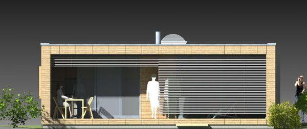 leipzig neubau low budget house ansicht 2 houses. Black Bedroom Furniture Sets. Home Design Ideas