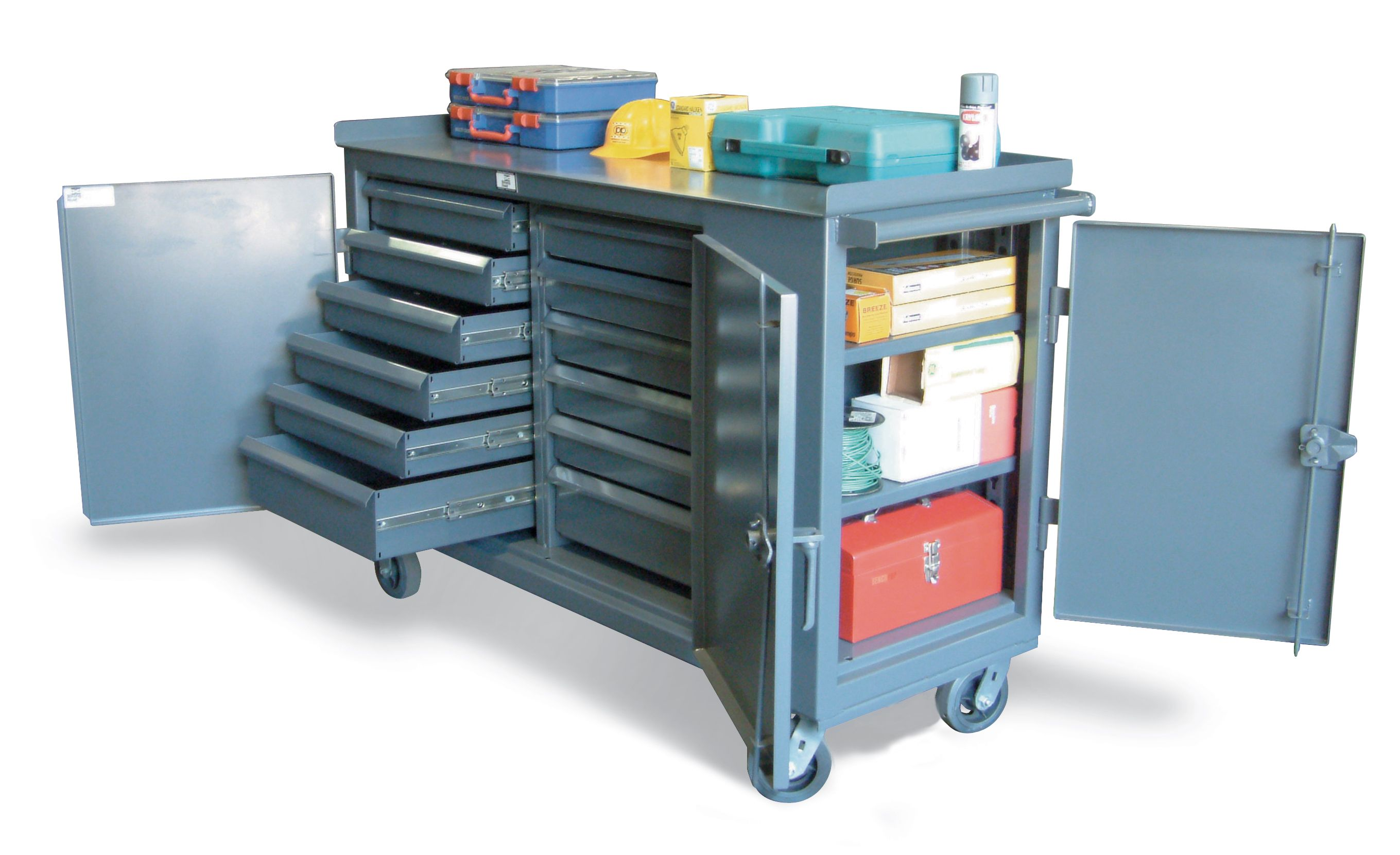 2pc Mini Tool Chest Cabinet Storage Box Rolling Garage Toolbox Organizer New In Home Garden Tools Too Kayak Storage Rack Tool Chest Tool Box Organization