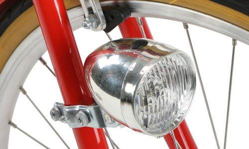 Vintage Style Bicycle Light LED Retro Classic Bike Front Lamp Headlight