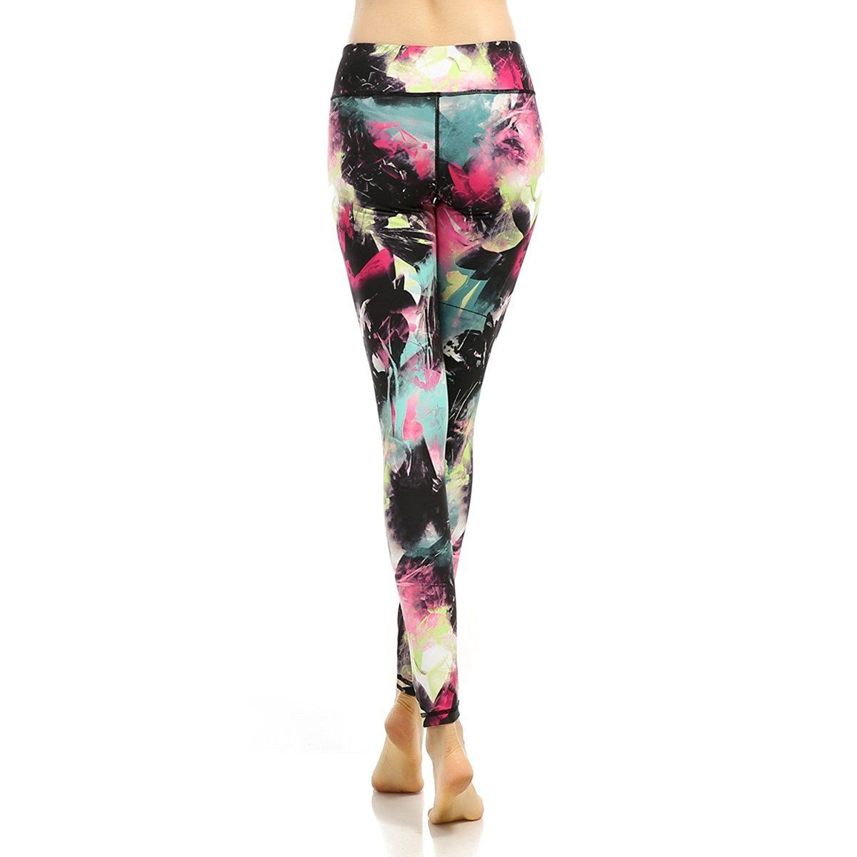 34e0371806 X-Fit Sports Yoga Fitness Leggings Spandex Running Gym Women's Capri Yoga  Pants Nylon Hidden Pocket