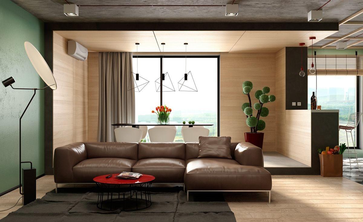 Three Cozy U0026 Colorful Modern Apartments