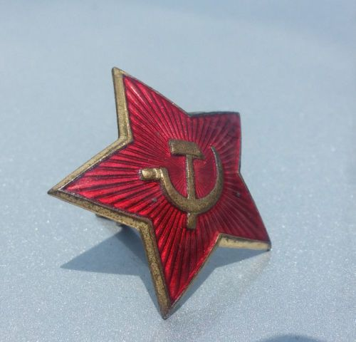 Mens Cufflinks SOVIET RED STAR New WW2 Style Russian Army Military Accessory