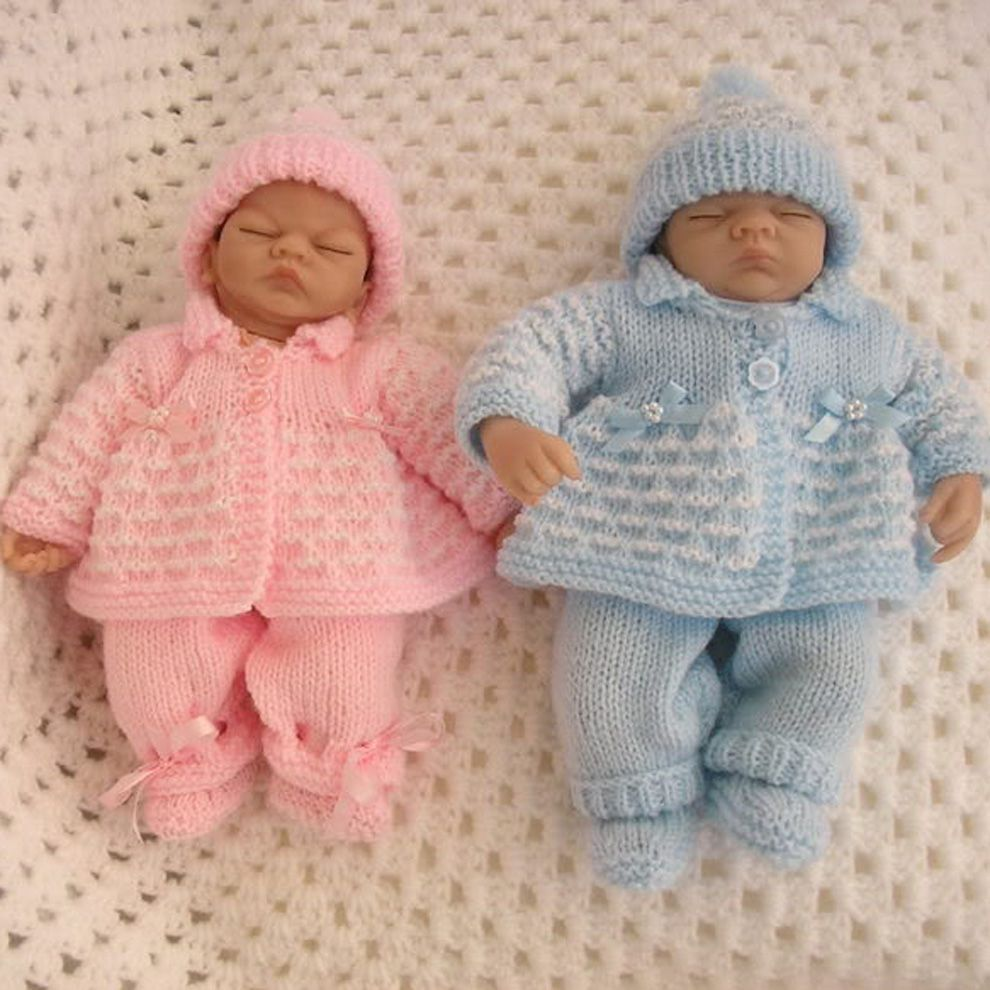 Knitting Pattern For Premature Baby 2 3 Lb Or 10 Doll Baby Cardigan Pattern Crochet Knitting Dolls Clothes Toddler Clothes Patterns