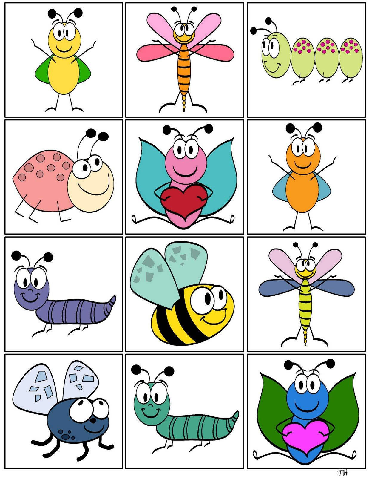 Storytime And More Insect Memory Game M What Else To Do With These