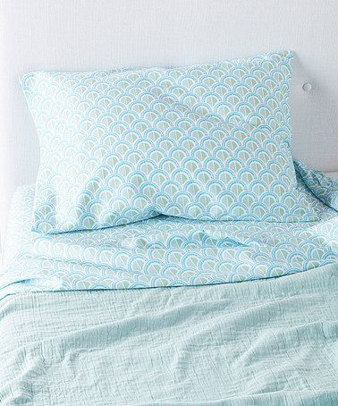 Pillowcase In Spanish Loving This Celadon Scale Pillowcase  Set Of Two On #zulily