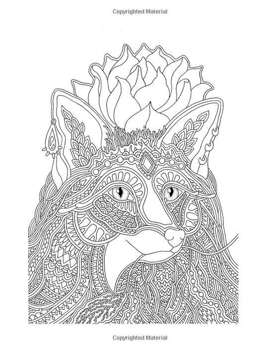 Pin von Ame Martin auf coloring animals | Pinterest