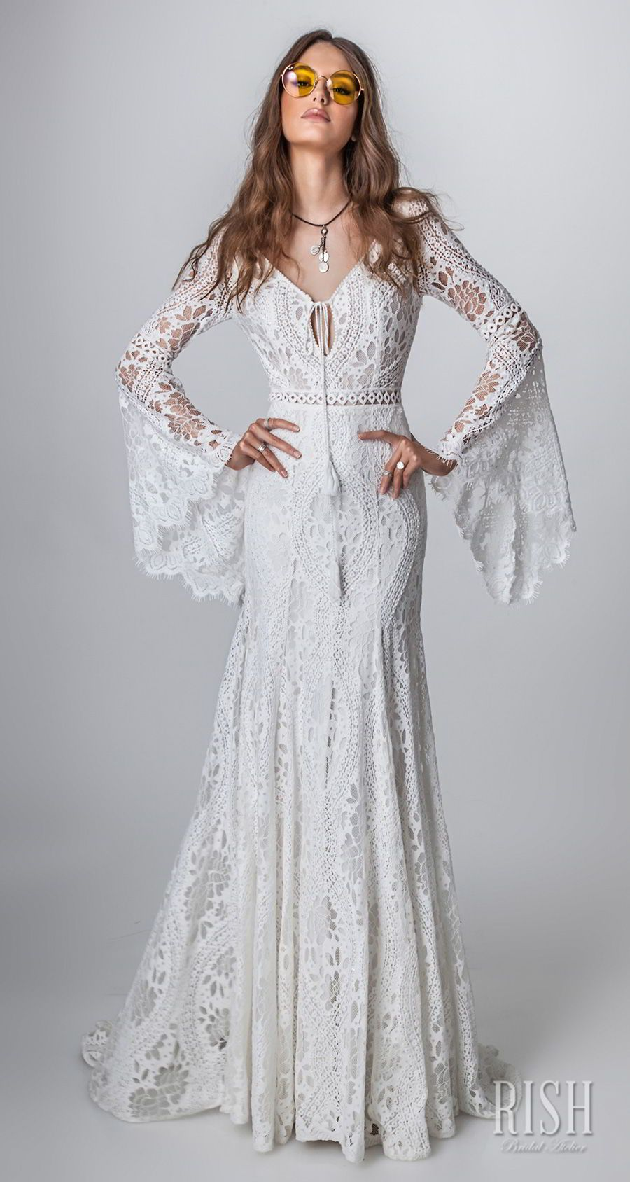 Rish bridal ucsun danceud collection u boho chic wedding dresses